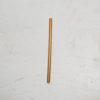 la paille en bambou fine diamètre 7mm 20cm
