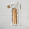 Pailles en bambou pour enfant